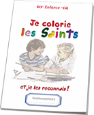 Je colorie les saints